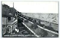Postcard Westcliff On Sea Essex Upper and Lower Parade