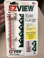 Headwind's Ezview 5 In. Glass Rain Gauge
