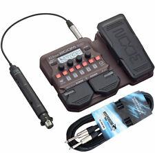 Zoom A1X Four Effektgerät für akustische Instrumente + keepdrum Klinkenkabel 3m
