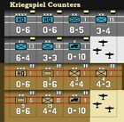Replacement Counters for Kriegspiel   Die-Cut