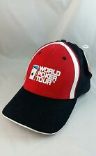 RARE AUTHENTIC WORLD POKER CARD TOUR BLACK RED WHITE HAT CAP EMBROIDERED 2004
