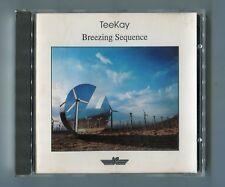TeeKay CD BREEZING SEQUENCE © 1989 West Germany IC 710.081 Weisser near mint