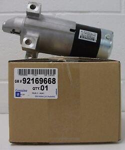 STARTER MOTOR Genuine Holden Commodore V8 VY VZ WH WK LS1 LS2 L76 L98 92169668