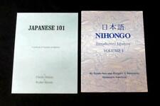 Two Beginning Japanese Books: Japanese 101,Nihongo Introductory Japanese Vol. 1