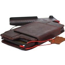 Genuine retro leather hard case fit apple iphone 6s plus wallet cover Removable