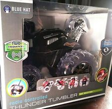 Blue Thunder 360 Radio Controlled Rally Car Black 49 MHz Batteries Included