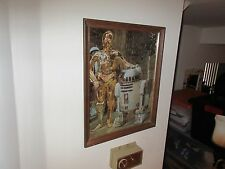 Star Wars ,  Puzzle ,  Poster , Framed and Ready to Hang , C-3PO & R2-D2
