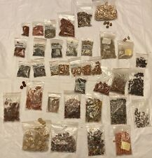 Lot of Jewelry Beads Glass Stone Clay 12 lbs Earthy Variety ~ Projects