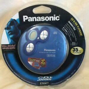 Panasonic SL-SX290 Portable CD Player w/Headphones - New/NOS Blue