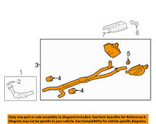 Chevrolet GM OEM 2013 Camaro 6.2L-V8-Exhaust System-Muffler Tail Pipe 92225672