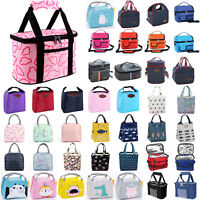 Insulated Lunch Food Thermal Cooler Bag Travel Picnic Camping Portable Tote box