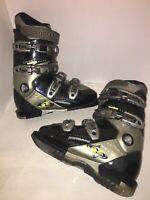 Rossignol XT Super Impact Ski Boots Size 24.5 283mm Black/Silver
