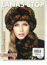 LANAS STOP HAND KNITTING,  NO. 118  PRINTED IN SPAIN (ACCESSORIES * COMPLEMENTO