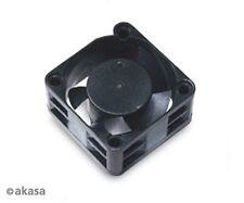 Akasa 40mm ventilador de bajo nivel de ruido 40 X 10mm Negro (Paquete de venta al por menor)