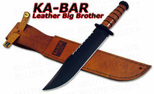 Ka-Bar KaBar Knives Leather Handle Big Brother Bowie 2217 NEW