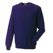 3X PURPLE SWEATSHIRT PLAIN FOR DECORATING GREAT COLOR FOR LADIES OF SOCIETY