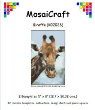 MosaiCraft Pixel Craft Mosaic Art Kit 'Giraffe' Pixelhobby