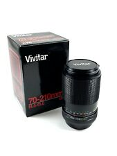 Vivitar 70-210mm F/ 4.5-5.6 Macro Lens for Canon FD Mount (Great for Mirrorless)