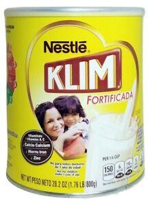 Klim Fortificada Instant Dry Whole Milk - Powdered Milk - 28.2 OZ