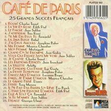 Cafe de Paris - 25 grands succes / EDITH PIAF JEAN SABLON MAURICE CHEVALIER