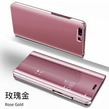 Clear View Mirror Case Flip Leather Stand Cover for Huawei Mate 30 P30 Pro/Lite