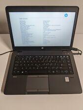 """HP ZBook 14 G2 14"""" Intel i7-4600U 2.1GHz 4GB RAM No HDD/OS/Battery Locked BIOS"""