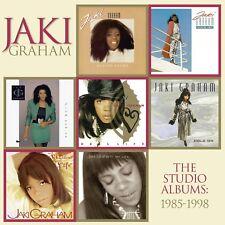 JAKI GRAHAM - THE STUDIO ALBUMS: 1985-1998 7 CD NEUF