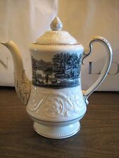 Wedgwood Queensware Patrician transfer print Coffee Pot