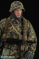 Did 1/6 escala II Guerra Mundial Alemán 3ª División Panzer MG34 artillero