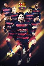 Barcelona Players 2015 2016 - Maxi Poster 61cm x 91.5cm new and sealed