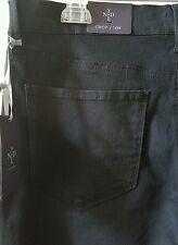 NYDJ Black ARIEL Crop Denim 5 Pocket Jeans Plus Sizes Retail $98 NWT (1)