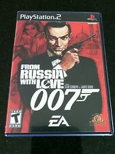 From Russia With Love James Bond 007 PS 2Sony PlayStation 2, 2005 Leathal  Agent