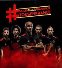 PANINI TOUS EN FRANCE TOUSENFRANCE RED DEVILS BELGIUM STICKERS