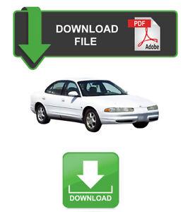 Oldsmobile Intrigue 1998 1999 2000 2001 2002 Service Repair Workshop Manual
