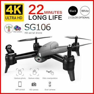 NEW RC Drone 4K HD Dual Camera WIFI FPV Optical Flow Aerial Foldable Quadcopter