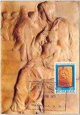 57443  -   NICARAGUA - POSTAL HISTORY: MAXIMUM CARD 1975 - ART Michelangelo