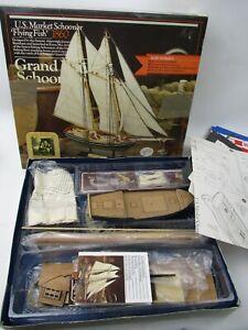 Wooden Model Kit Grand Banks Schooner Flying Fish 1860 by Authentic Models