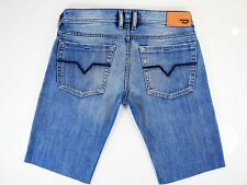 Diesel Zathan Jeans * Diesel Denim Shorts W32 Excellent Condition 008AT 32W *