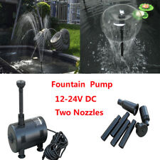 Solar Powered Submersible Fountain Pond Brushless Garden Waterfall Water Pump
