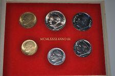 1981 Vatican City John Paul II (III Year) Coin Set - Unc