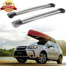 150LBS Aluminum Roof Rack Cross Bars Cargo Carrier For Subaru Forester 1998-2010