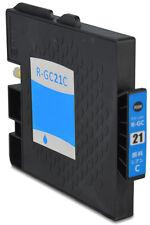 Cartouche compatible Ricoh GC-21C GC21C / 405533 CYAN