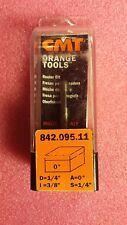 "CMT 842.095.11 Solid Carbide Trimmer Bit, 1/4"" Diameter with 1/4"" Shank"