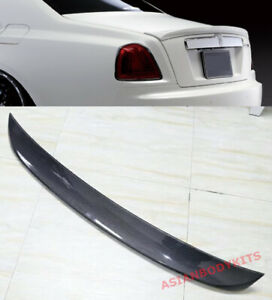 for Rolls Royce Ghost (2010-2015) CARBON fiber TRUNK SPOILER