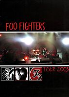 FOO FIGHTERS 2003 ONE BY ONE TOUR CONCERT PROGRAM BOOK BOOKLET / NMT 2 MINT