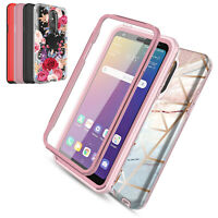 For LG Stylo 5 /5+/ 5 Plus Case Shockproof Cover With Built in Screen Protector
