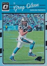 Greg Olsen 2016 Donruss Optic, (Holo), Football Card !!