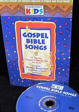 CEDARMONT KIDS Gospel Bible Songs  DVD ,Sing A long Bible songs , Church, Home