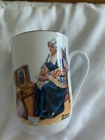 """Vintage Norman Rockwell Museum """"Memories""""  Coffee Tea Mug Cup"""