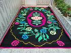 Moroccan Handmade Berber Vintage Azilal Rug Beni Ourain Tribal Carpet